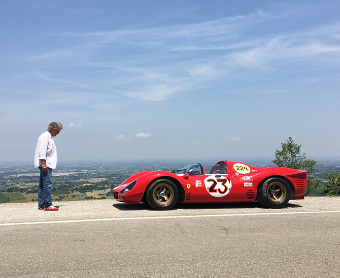 James May Ferrari