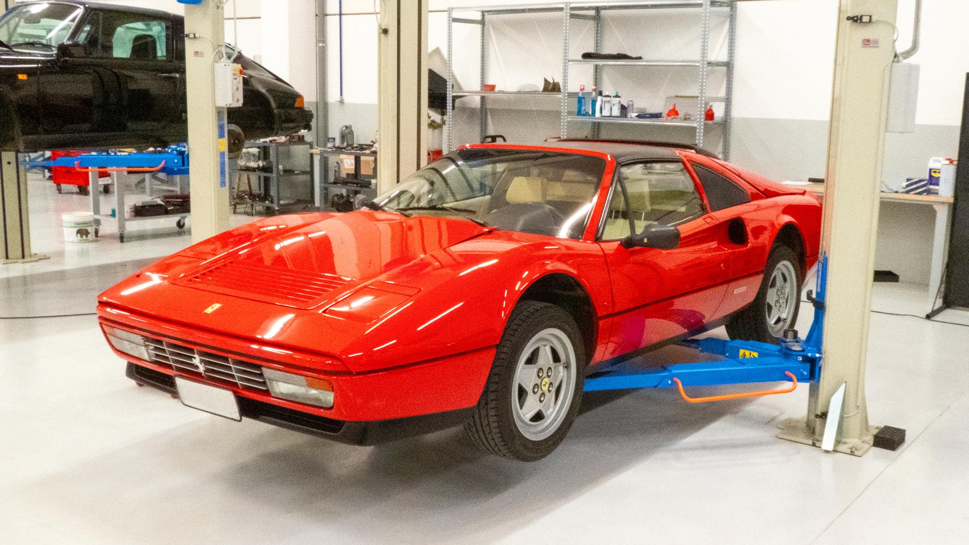 Ferrari restauro e corse